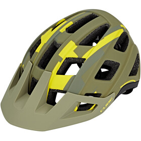 Cube Badger Helm green camo